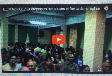 ile maurice / guérisons miraculeuses et fiesta dans l'église ! rémy bayle