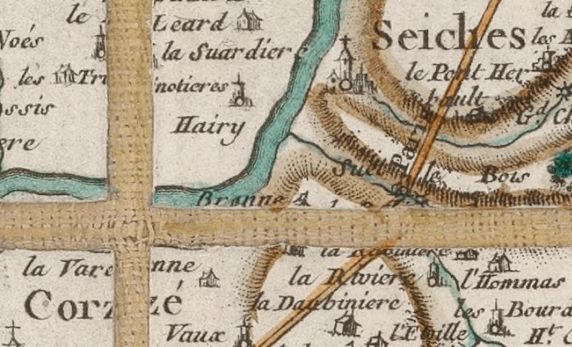 Mort d'un écrivain au Plat d'Étain (Seiches, 1630)