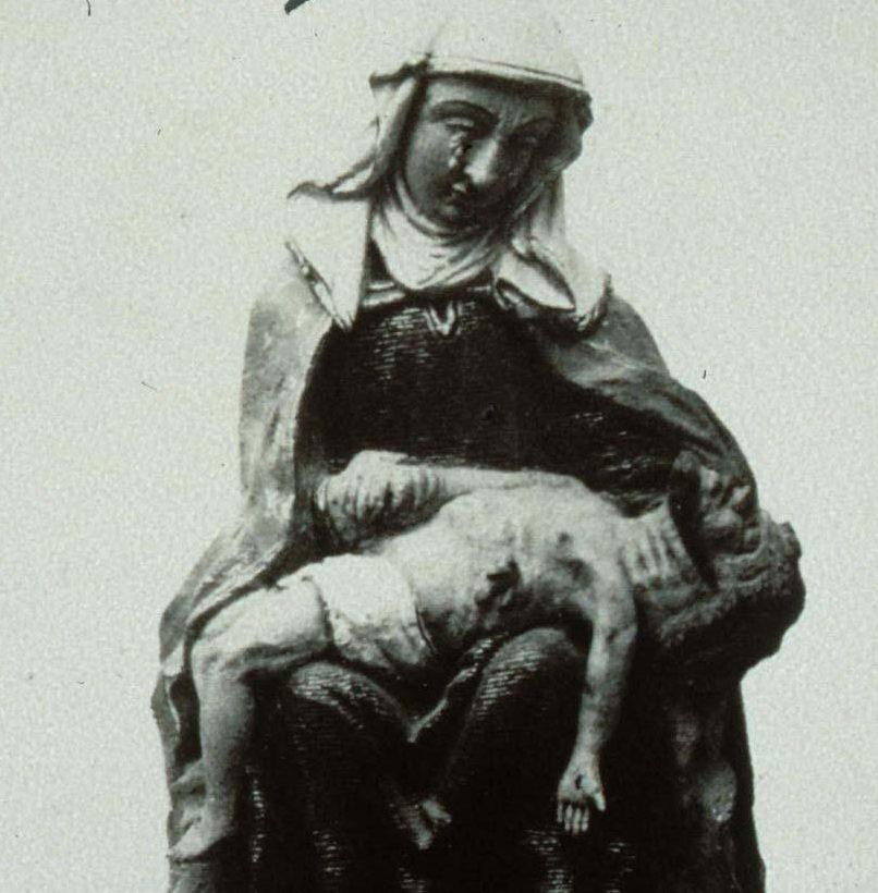 Inhumation d'une sœur de la Confrérie des Agonisants