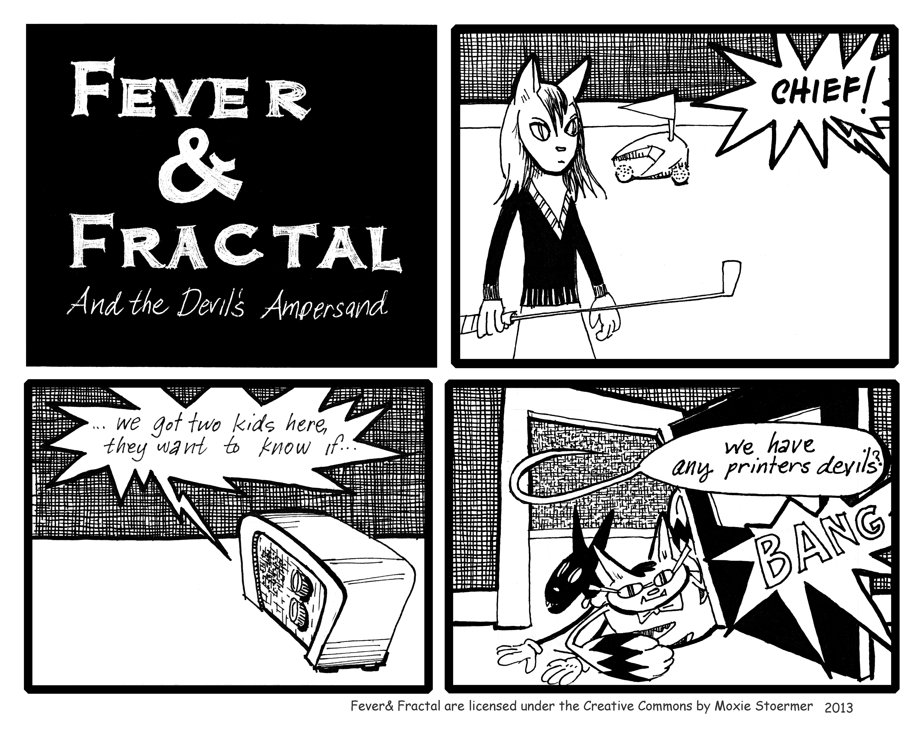 Fever and Fractal: The Devil's Ampersand 2 : 13