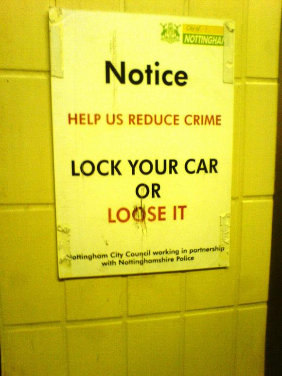 Lock It Or Loose It, By Steve Bullivant - Flickr