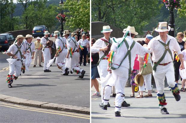 Morris Dancing in Harrogate (2) - M. Sowden