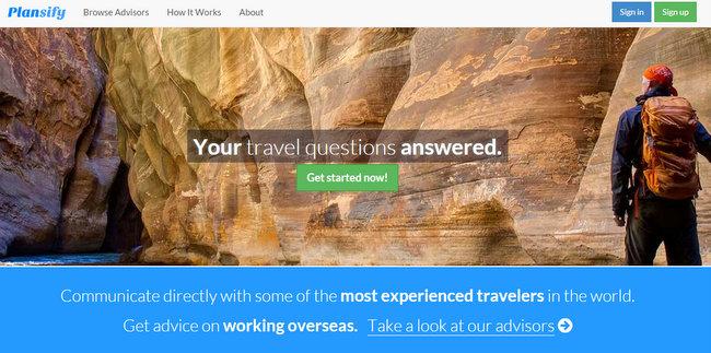 plansify travel planning