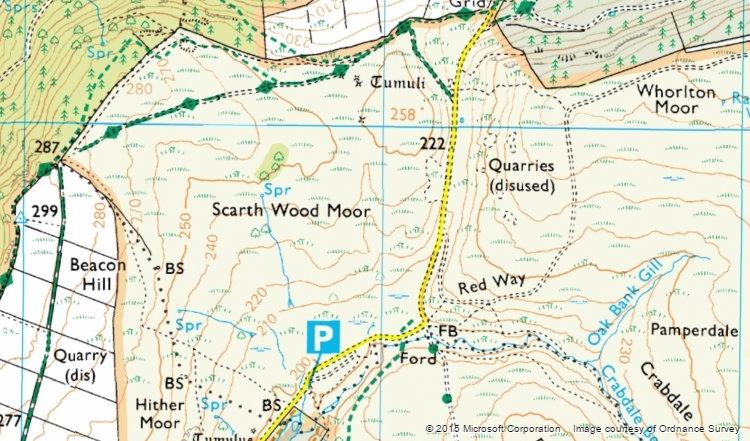 Osmotherley - Bing Maps