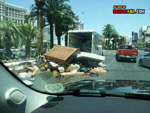 Stuff on the Road Moving Fail