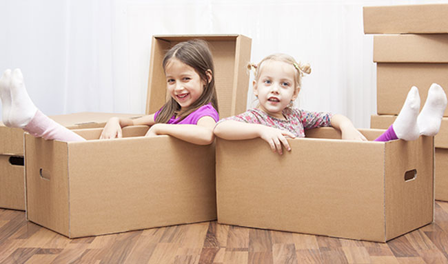 How to Make Moving Day Fun for Kids