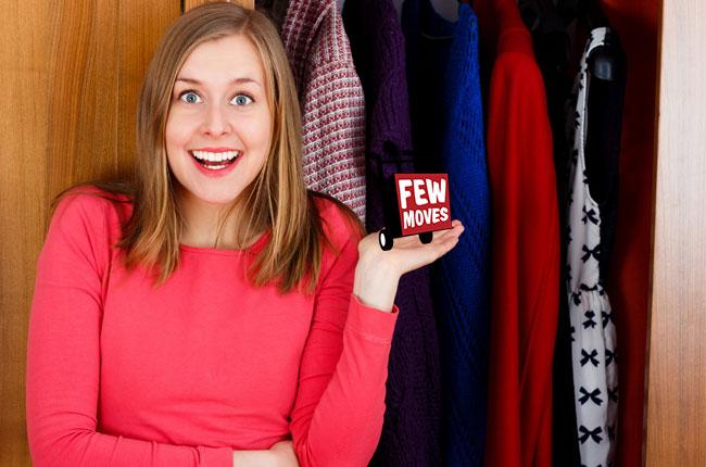 Six Hacks for Your Tiny Closet