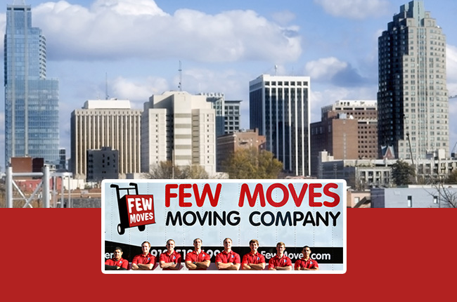 Your Raleigh NC Relocation Guide by Few Moves Moving Company