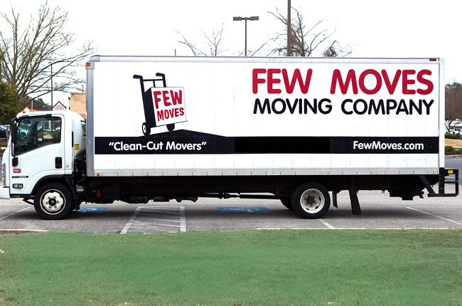Find a Raleigh NC Moving Truck