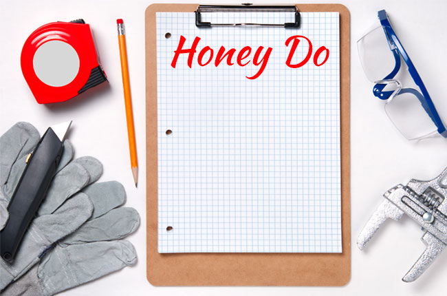 A Home Honey Do List For Fall