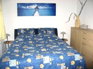 Fewo Blaue Nole Schlafzimmer