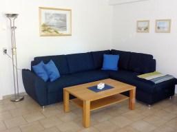 Blaue Nole Wohnzimmer