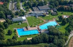 Luftaufnahme Freibad © Stadt Heiligenhaus