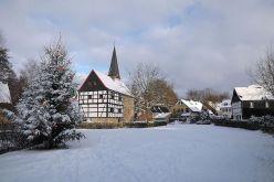 Winterliches Haan-Gruiten, © Stadt Haan