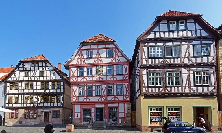 Fachwerk Stadt Schmalkalden