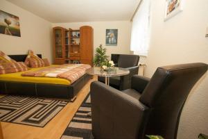 Wohn- und Schlafzimmer Ferienwohnung zum Ruppberg