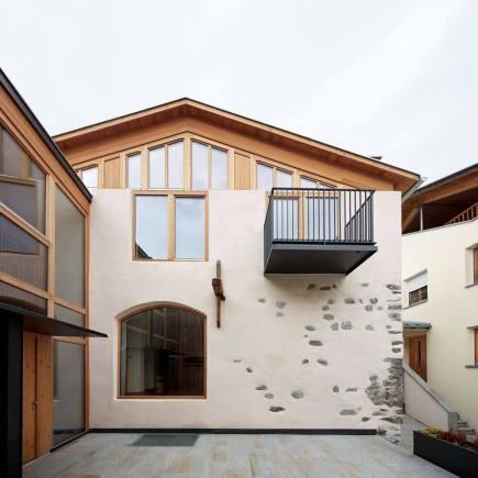 Eingangsbereich zu beiden Wohnungen