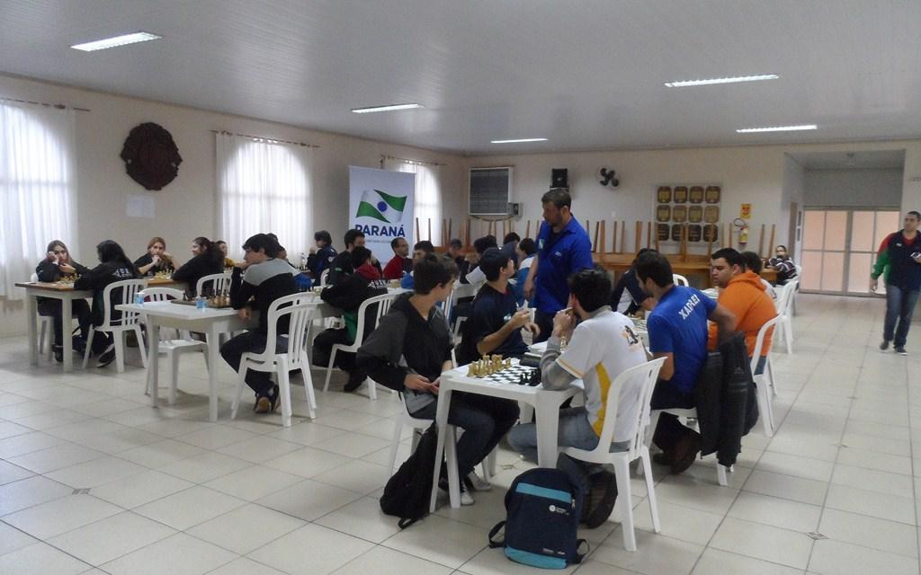 Termina a prova de xadrez relâmpago em Guaira