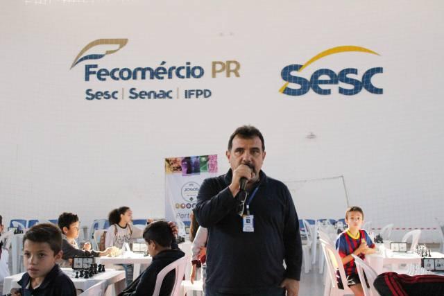 José Dimas Fonseca (Dimas) Gerente regional Sesc Jacarezinho.