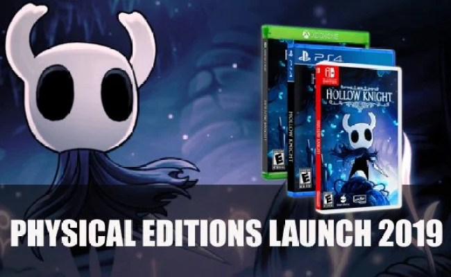 Hollow Knight Gets Physical Release For Ps4 Xbox One And