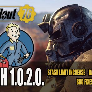 Fallout 76 Patch 1 0 2 0  Details | Best Headphones