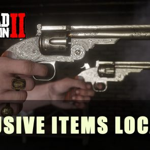 Red Dead Redemption 2 Online: Exclusive Item Locations