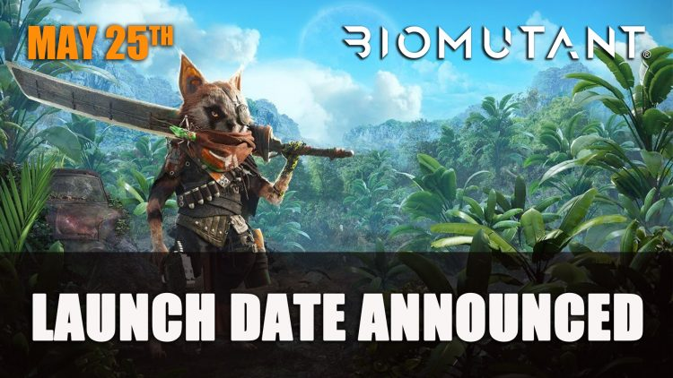 BioMutant launch day May 25