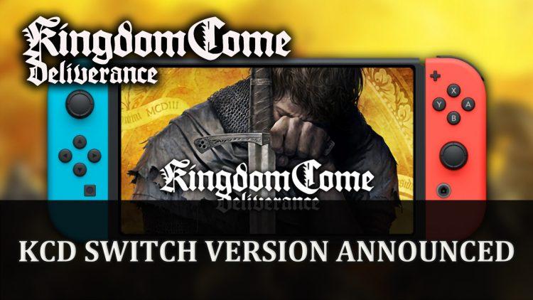 Kingdom Come: Deliverance announced for Switch