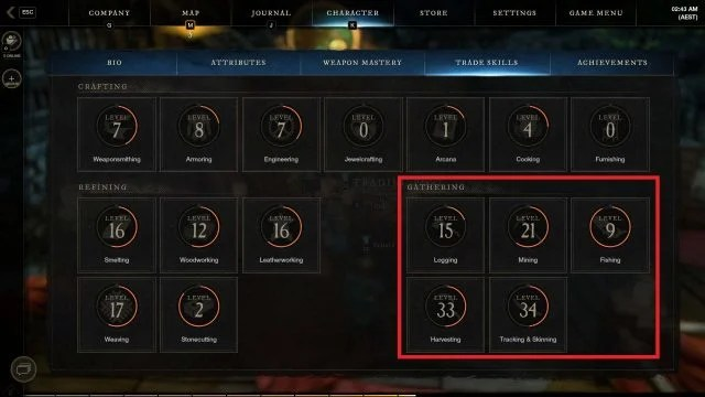 Gathering Trade Skills New World Gold Guide How to Farm Gold As A Beginner