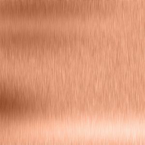 Brushed Copper/Rose Gold