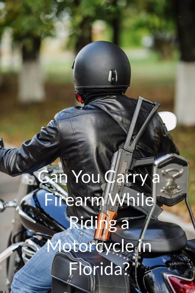 Can You Carry A Firearm On Motorcycle