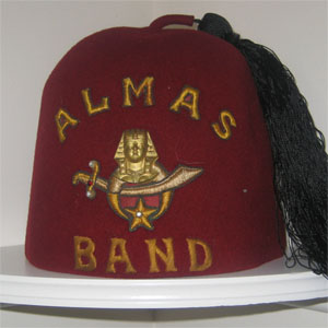 1ac2497e1cd This fez comes from Almas Shrine located in Washington