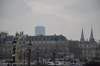 Tour Montparnasse, looking even lovelier than usual.