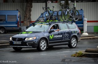 Cars carrying bikes; we're coming up on the end.