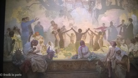 A panel of The Slav Epic.