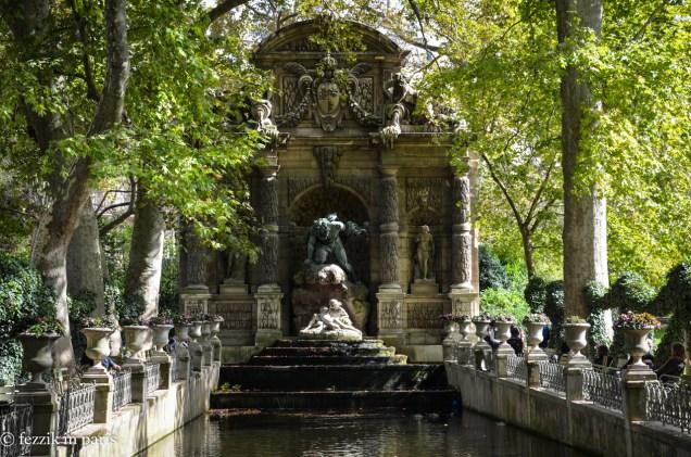 Fontaine Médicis.