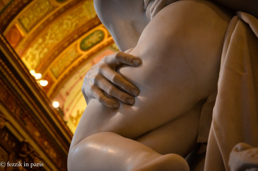 It was even more difficult to believe that this piece was carved in marble.