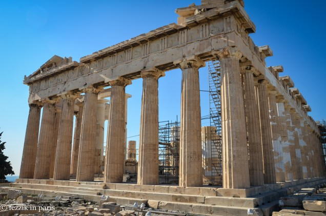 Another face of the Parthenon.