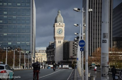 The clock tower from a gare whose name I'm entirely too lazy to look up at this particular moment in time.