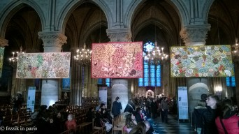 They had tapestries with turkeys and chickens on them, which was nice.