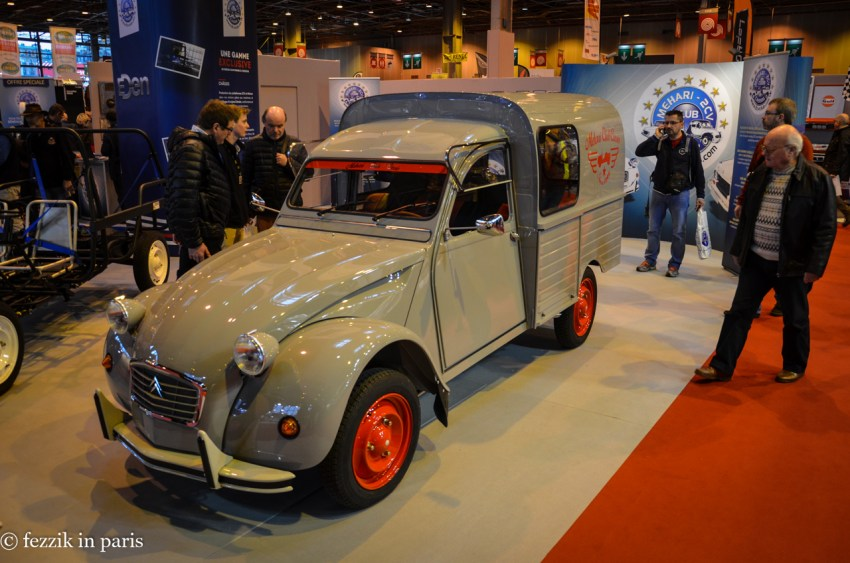 A 2CV in delivery van configuration.