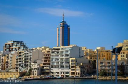 The tallest building in Malta.