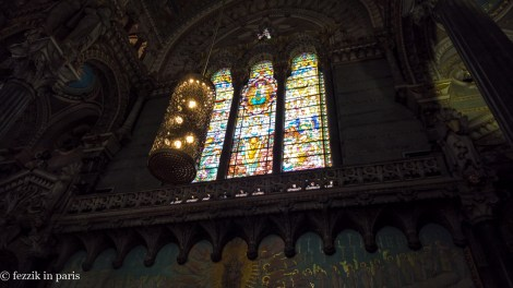 Stained glass from notre-dame.
