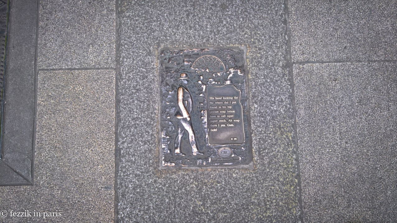 These something-from-Ulysses-happened-here plaques abound.
