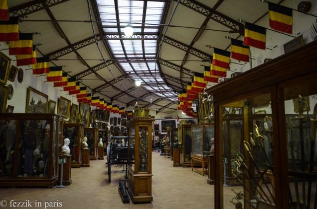 The Musée royal de l'armée et de l'histoire militaire suffers from a serious case of let's-just-stick-this-stuff-here.