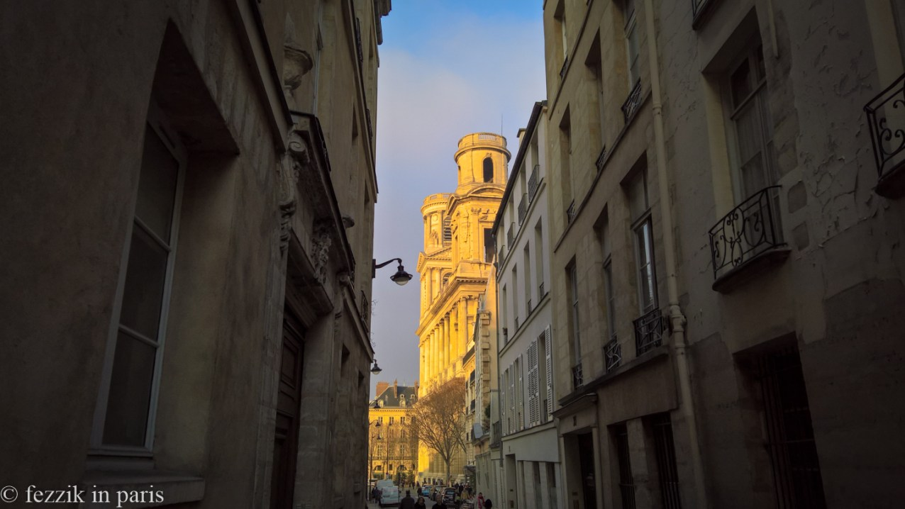 Saint-Sulpice lurks just down the road.