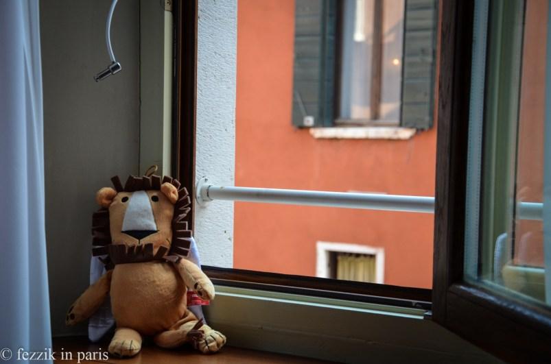 Marco enjoying his last few hours in Venice.