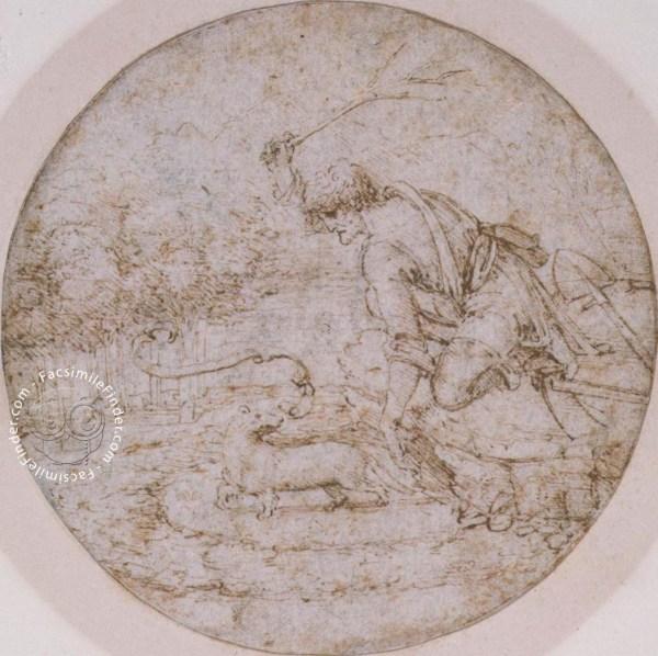 Drawings Of Leonardo Da Vinci And Circle - British