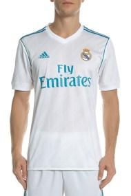 adidas Performance - Ανδρική κοντομάνικη μπλούζα ποδοσφαίρου REAL H JSY λευκή