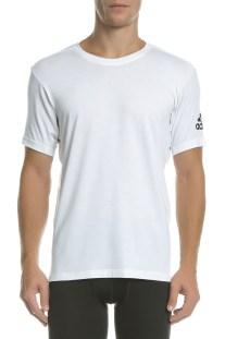 adidas Performance - Ανδρική αθλητική κοντομάνικη μπλούζα PRIME TEE λευκή